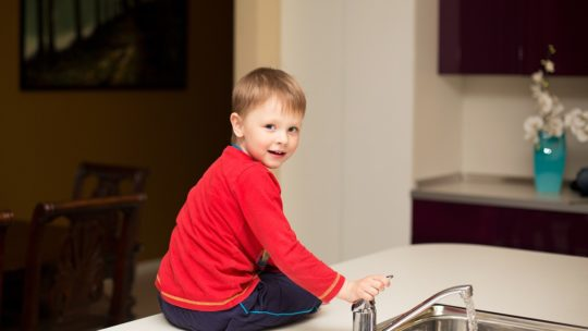 Gør din bolig børneklar